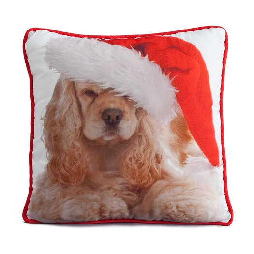 lava Holiday Cocker Pillow