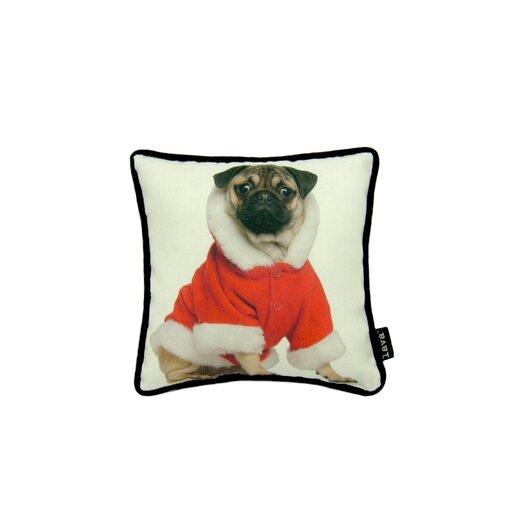 lava Lava Holiday Pug Pillow