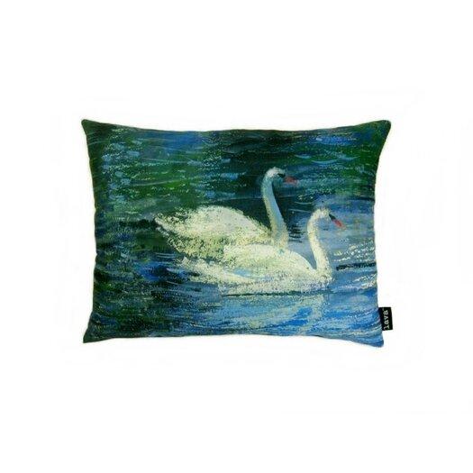 lava Swans Pillow