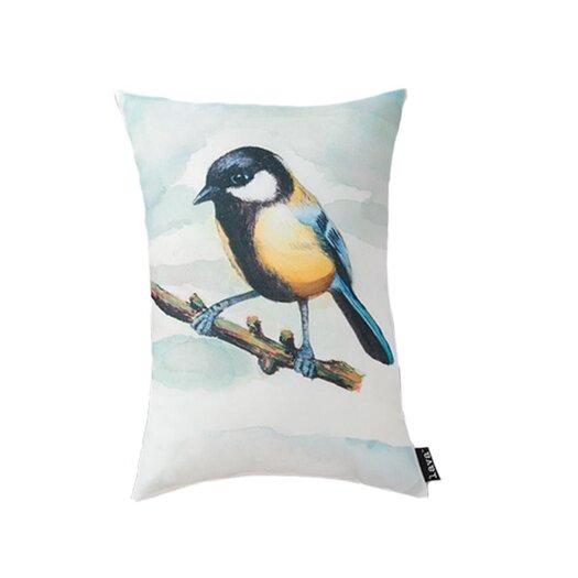 lava Lava Bird Watercolor Pillow