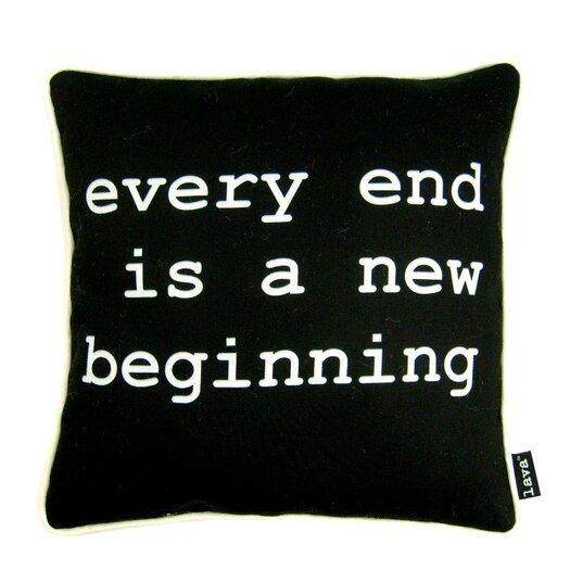 lava Beginning Polyester Pillow