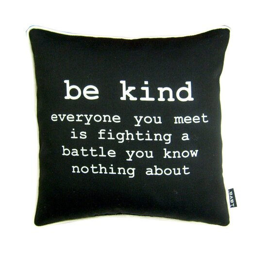 lava Be Kind Polyester Pillow