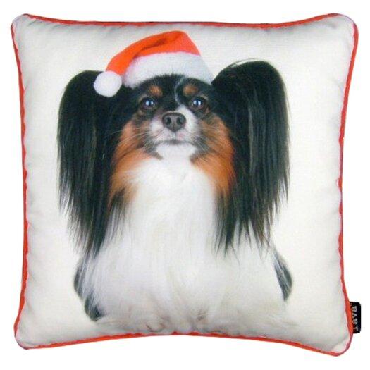 lava Holiday Papillion Pillow