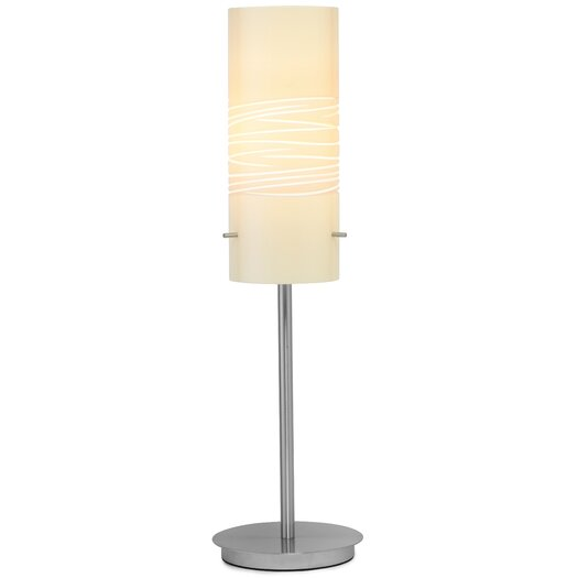 "Oggetti Dune 24.5"" H Table Lamp with Drum Shade"
