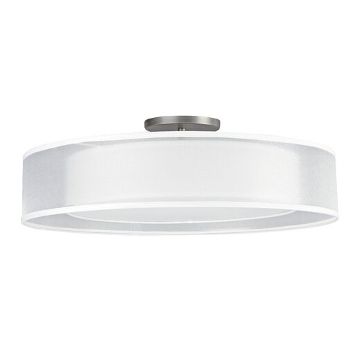 AFX Contemporary 2 Light Semi Flush Mount