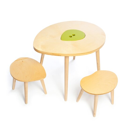 Mod Mom Furniture Owyn Kids 3 Piece Table and Chair Set