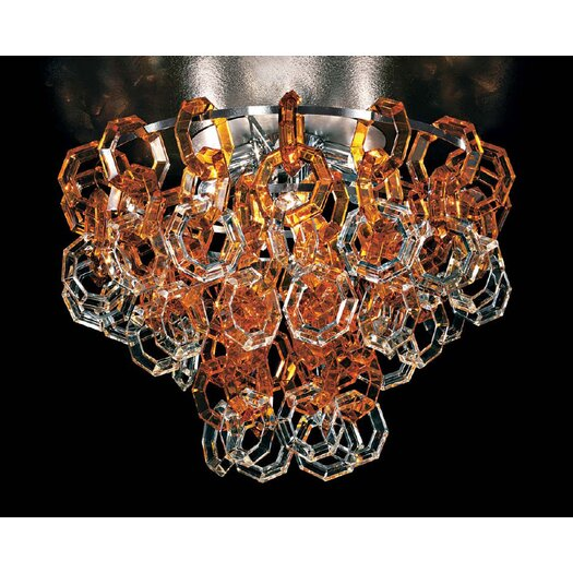 "Facon De Venise Misstrass 27.5"" Ceiling Lamp"
