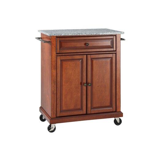 Crosley Kitchen Cart with Granite Top