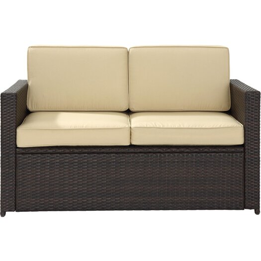 Crosley Loon Harbor Loveseat with Cushions