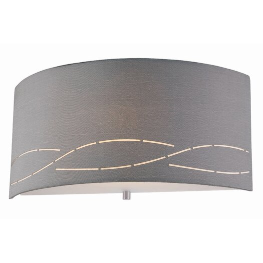 Philips Forecast Lighting Silver Laser 1 Light Wall Sconce