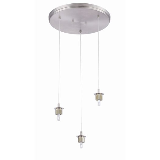 Philips Forecast Lighting Sparkle 3 Light Pendant
