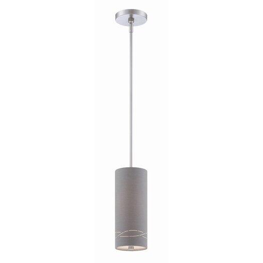 Philips Forecast Lighting Silver Laser 1 Light Pendant