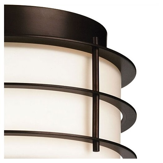Philips Forecast Lighting Hollywood Hills 2 Light Outdoor Flush Mount