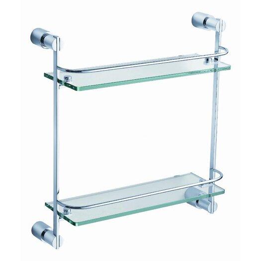 "Fresca Magnifico 15.75"" x 15"" Bathroom Shelf"