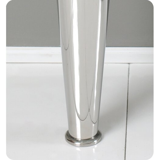 "Fresca Vetro Netto 24"" Modern Bathroom Vanity Set with Single Sink"