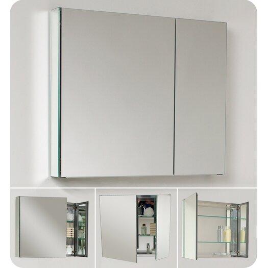 "Fresca 29.63"" x 26.13"" Medicine Cabinet"