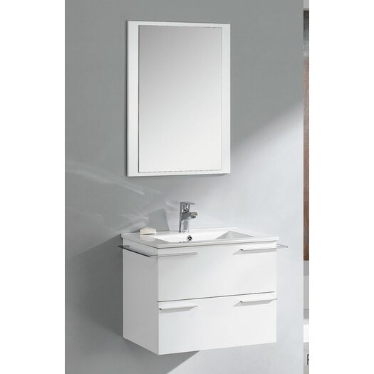 "Fresca Cielo 24"" Modern Bathroom Vanity Set with Single Sink"