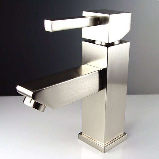 Fresca Versa Single Hole Mount Bathroom Faucet with Single Handle