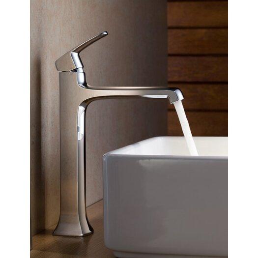 Fresca Verdura Single Handle Deck Mount Vessel Faucet
