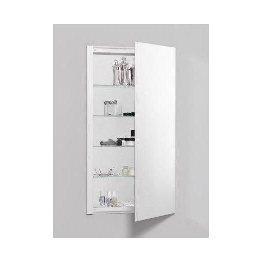 "Robern R3 Series 20"" x 36"" Recessed Flat Edge Medicine Cabinet"