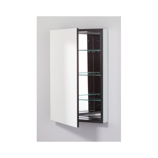 "Robern PL Series 19.25"" x 30"" Recessed Beveled Flat Edge Medicine Cabinet"