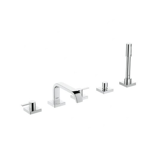 Grohe Allure Lever Volume Control Roman Tub Faucet with Hand Shower