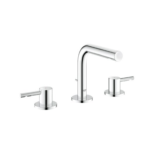 Grohe Essence Widespread Bathroom Faucet with Double Lever Handles