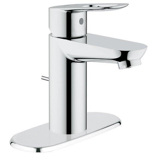Grohe BauLoop Single Handle Centerset Bathroom Faucet with Drain Escutcheon