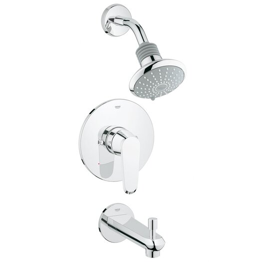 Grohe Eurodisc Cosmopolitan Diverter Tub and Shower Faucet