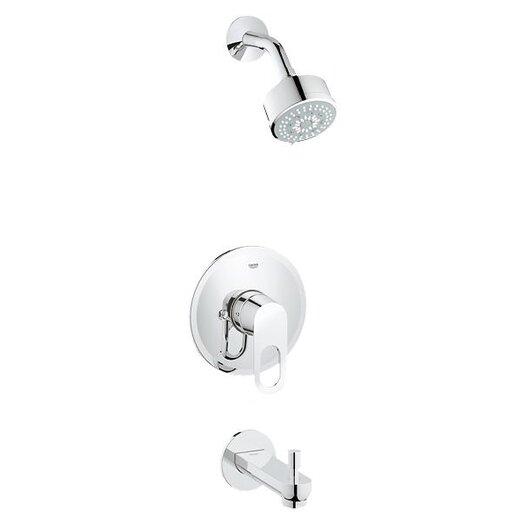 Grohe BauLoop Single Level Handle Shower / Tub Combination Trim