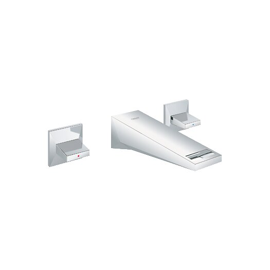 Grohe Allure Brilliant Double Handle Wall Mount Bathroom Faucet