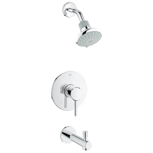 Grohe Concetto Pressure Balance Bathroom Combination