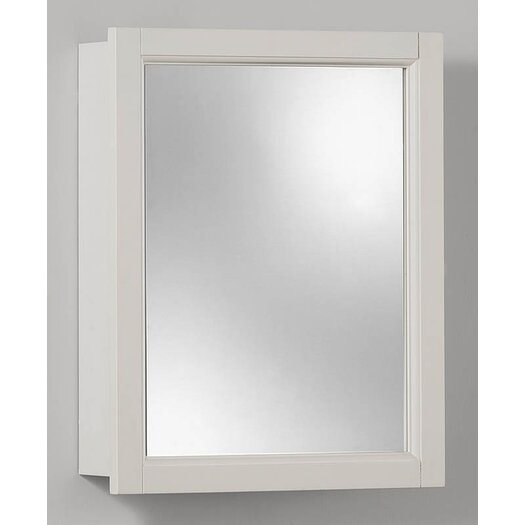 "Broan 15"" x 19"" Surface Mount Medicine Cabinet"