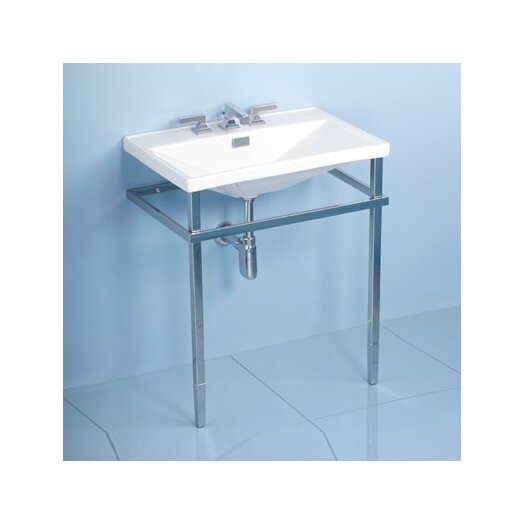 Toto Lloyd Metal Console Bathroom Sink Set