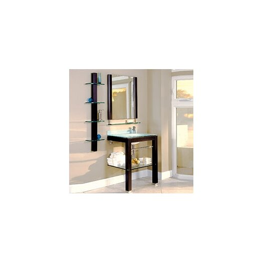 "DecoLav Bathroom Furniture 27.5"" Wall-Mounted Vanity Set"