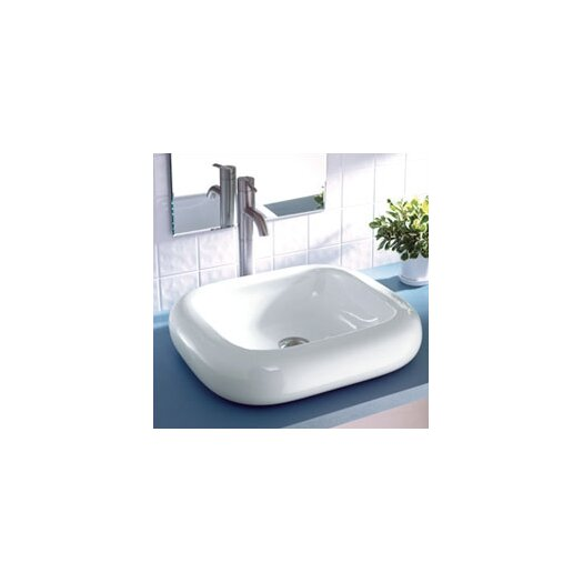 DecoLav Classically Redefined Rectangular Ceramic Vessel Bathroom Sink