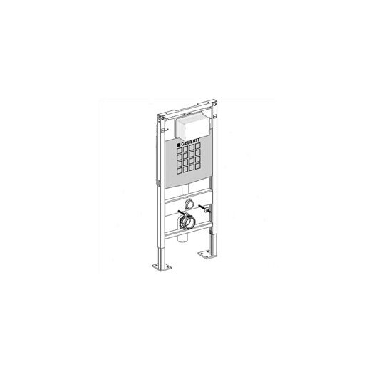 Duravit Geberit Duofix Concealed Tank and Carrier
