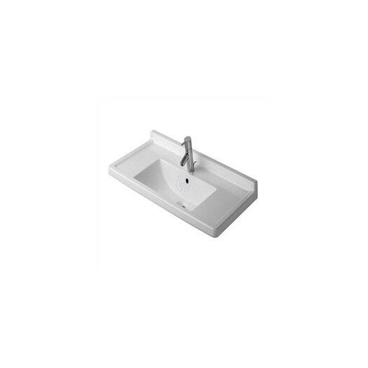 Duravit Starck 3 Furniture Pedestal Bathroom Sink Set