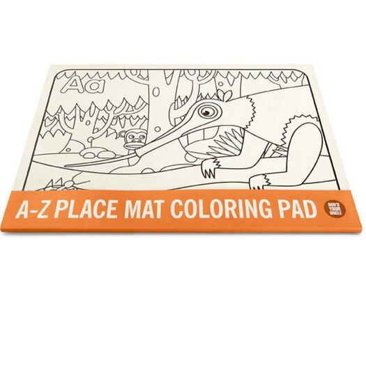 Bob's Your Uncle A-Z Coloring Pad Placemat