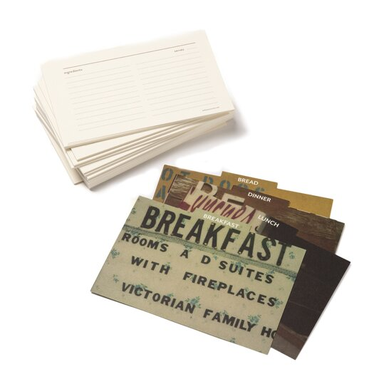 Bob's Your Uncle Recipe Index Cards