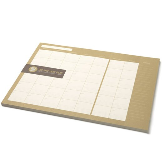 Bob's Your Uncle The Five Year Plan Monthly Planner