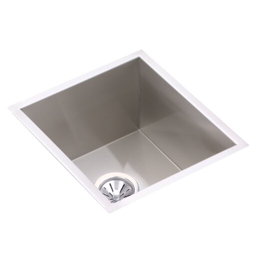 "Elkay Avado 18.5"" x 16"" Single Bowl Kitchen Sink"