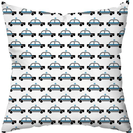 Checkerboard, Ltd Beep Beep Throw Pillow