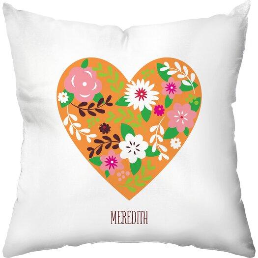 Checkerboard, Ltd Joyful Heart Throw Pillow