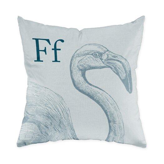 Checkerboard, Ltd Flamingo Polyester Throw Pillow