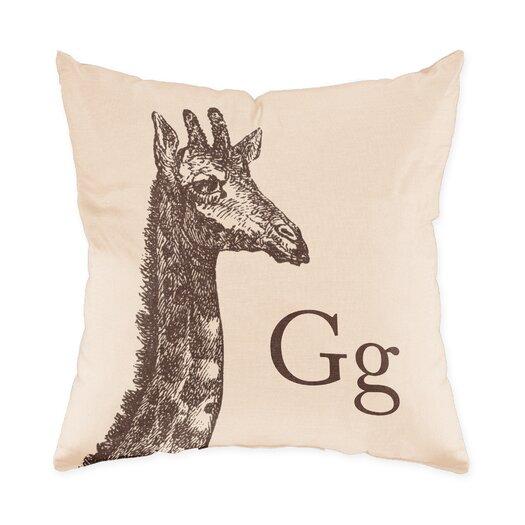 Checkerboard, Ltd Giraffe Polyester Throw Pillow