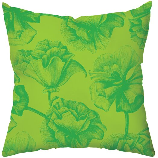 Checkerboard, Ltd Greenery Polyester Throw Pillow