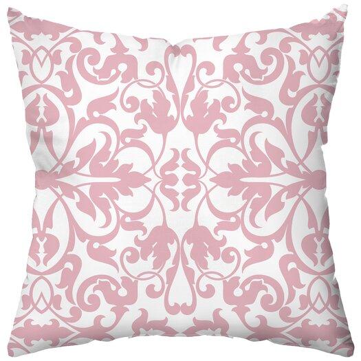 Checkerboard, Ltd Personalized XOXO Poly Cotton Throw Pillow