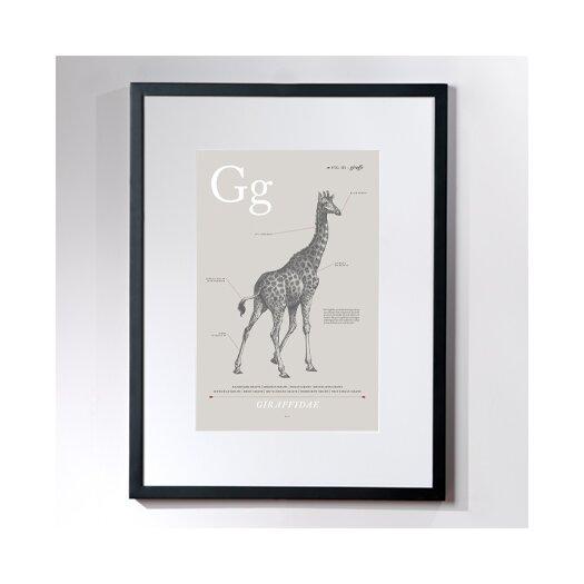 Checkerboard, Ltd Giraffe Framed Graphic Art