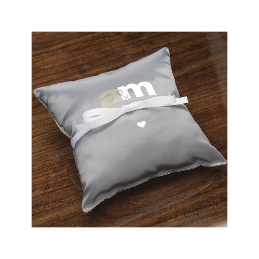Checkerboard, Ltd Personalized Unity Ring Pillow